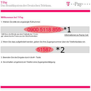 Sexcam per Telefonrechnung